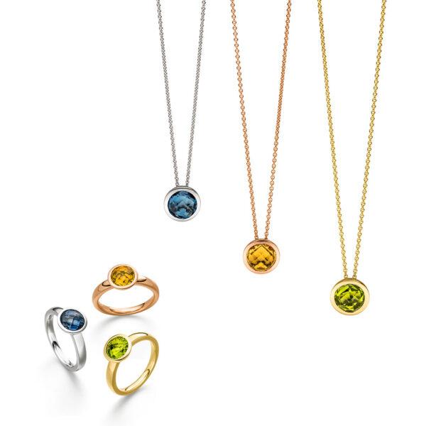 Juwelier Hoffmann - Dresden - Schmuck - Elaine Firenza (Anhänger und Ringe)