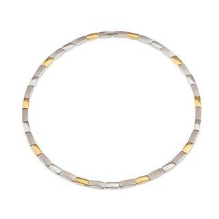 Boccia Collier Titan gold plattiert Image