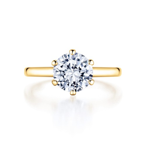 Rivoir Verlobungsring Canadamark Kanadischer Diamant 0,40ct Image